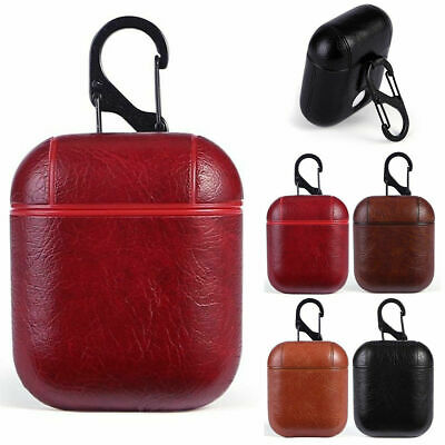 AirPods Case Genuine Protective Bag Leather Holder For Apple Air Pod Accessories