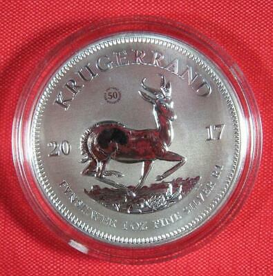 2017 South Africa 1 oz. .999 Silver Krugerrand GEM Premium Coin BU