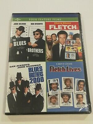 The Blues Brothers / Blues Brothers 2000 / Fletch / Fletch Lives (Dvd)