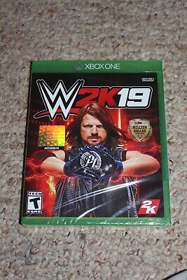 Wwe 2k19 (Microsoft Xbox One xb1) NEW Sealed