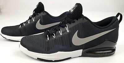 40a114521a917  100 Mens NIKE ZOOM TRAIN ACTION size 12 US Black Silver White (mint) Worn