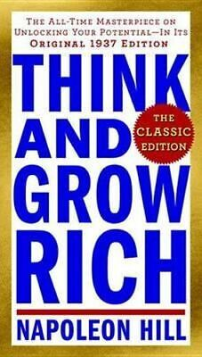 NEW Think and Grow Rich: The Classic Edition By Napoleon Hill Paperback