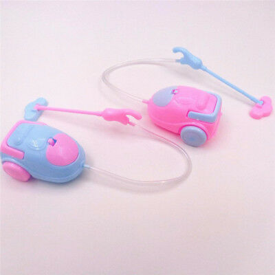 Mini Vacuum Cleaner Dolls Dust Catcher Doll Accessories for Barbie Dolls GH