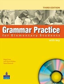 Grammar Practice for Elementary Student Book with Key Pack by Elaine Walker, ...