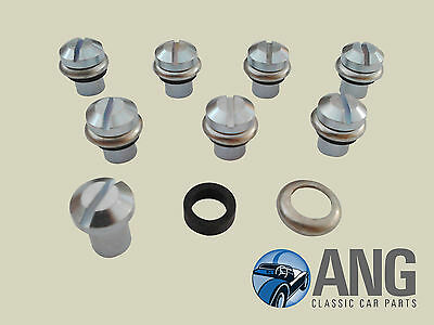 TRIUMPH STAG MkI & II CAMSHAFT COVER FITTING TUBE NUT & WASHERS KIT
