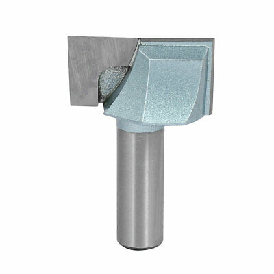 """1/2"""" Shank 1-1/2"""" Cutting Dia 2-Flute Carbide Tipped Cleaning Bottom Router Bit"""