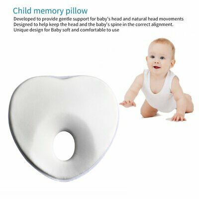 Soft Infant Prevent Flat Head Support Heart Baby Children Foam Cotton Memory H⊥