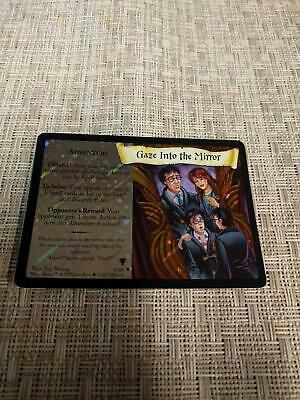 HARRY POTTER TRADING CARD GAME HOLOGRAM GOLDEN SNITCH CARD 8//80