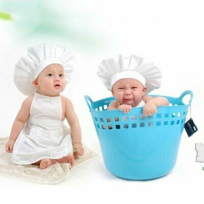 Baby Photo Photography Prop Outfit Newborn Chef Clothes DIY Funning P N♡