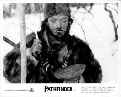 A scene from the film Pathfinder. - Vintage photo