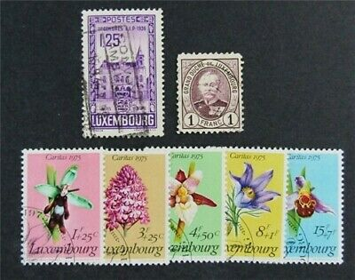 nystamps Luxembourg Stamp # 67c//B307 Used $30