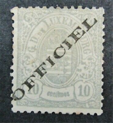 nystamps Luxembourg Stamp # O15 Mint OG H $93