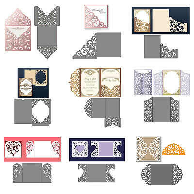 Hollow Lace Frames Metal Cutting Dies Scrapbook Embossing Card Paper Craft DIY