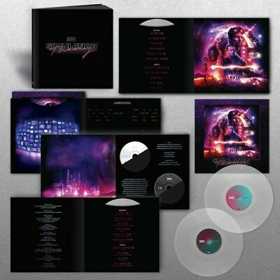 MUSE Simulation Theory SUPER DELUXE Box SET LP x 2 CLEAR Vinyl + CD s + ART Mp3s