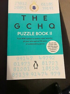 The GCHQ Puzzle Book II | GCHQ Free P&P