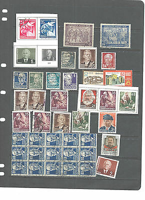 Germany-Ddr-Collection-Mixed Periods-Many Better