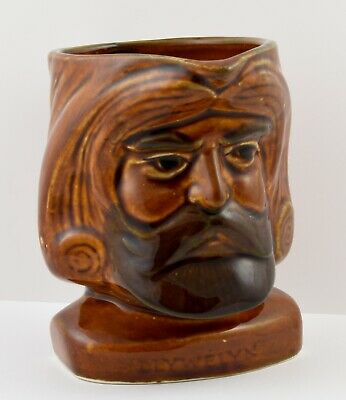 Very Rare Vintage Szeiler Llywelyn The Great Character Jug