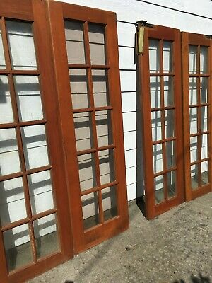 antique wood french doors