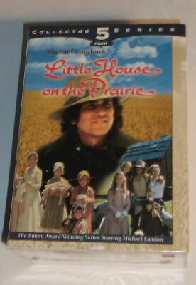 Little House on the Prairie 5 VHS Michael Landon New VHS Tapes! Nice See!