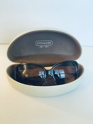 4df3b26f4021 COACH TASHA Style S846 Auth Sunglasses Brown Tortoise Shell with Case EUC  $189