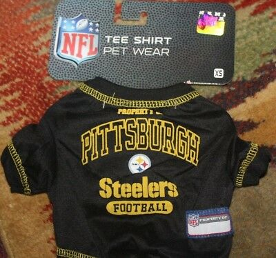 1ba11965efa Fan Apparel & Souvenirs Football-NFL Pittsburgh Steelers Dog Shirt NFL  Football Officially Licensed Quality Product