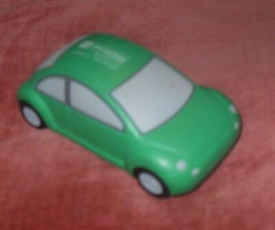 Enterprise Rent-A-Car Green Foam - NEW VW Beetle - Hand Stress TOY Relief Promo