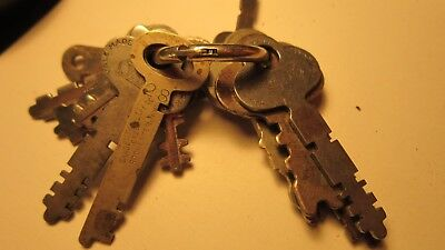 14 Antique Keys by Eagle Lock Co., Yale, Towne, Sargent and more.