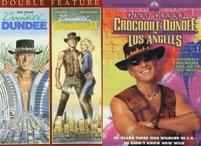 CROCODILE DUNDEE COMPLETE FILM TRILOGY New DVD All 3 Films 1 2 3 Los Angeles