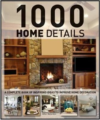 NEW 1000 Home Details By Marta Serrats Hardcover Free Shipping