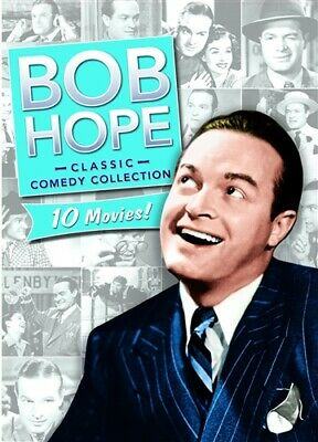BOB HOPE CLASSIC COMEDY COLLECTION New DVD 10 Movies Paleface My Favorite Blonde