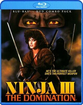 NINJA III THE DOMINATION New Sealed Blu-ray + DVD
