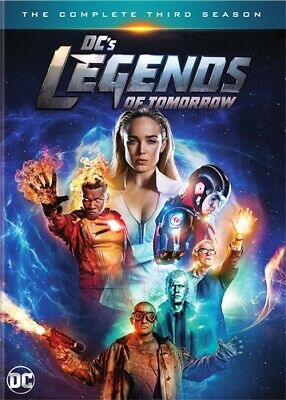 DC'S LEGENDS OF TOMORROW TV SERIES COMPLETE THIRD SEASON 3 New Sealed DVD