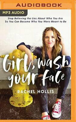 NEW Girl, Wash Your Face By Rachel Hollis CD in MP3 Format Free Shipping