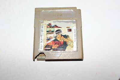 Fist Of The North Star (Nintendo Gameboy) Cart Only POOR Game Boy
