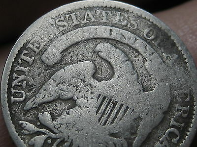 1835 Silver Capped Bust Half Dime, Small Date, Large 5C