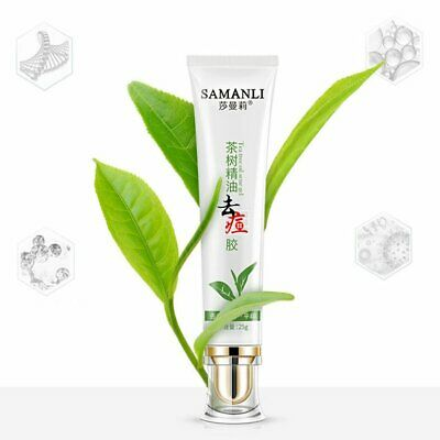 Sha Man Li Tea Tree Essential Oil Anti Acne Gel Safe Convient And G A〡