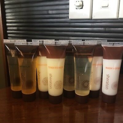 BULK BUY 8pc Set Shampoo Condioner Shower Gel Body Lotion TRAVEL SIZE