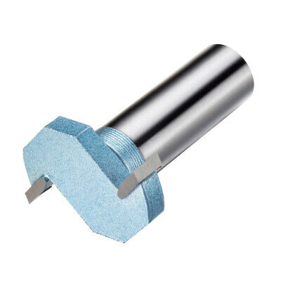 1/4-inch Cutting Depth T-Slot T-Track Slotting Router Bit Cutter 1/2-inch Shank