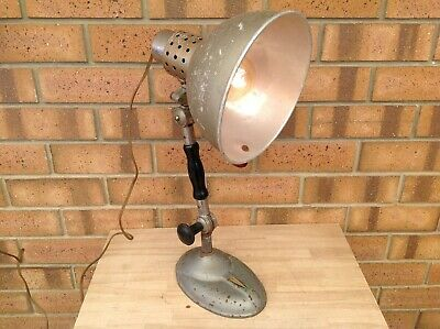 Vintage Industrial Stanford Table/desk Lamp, Lamps, Lighting, Collectable