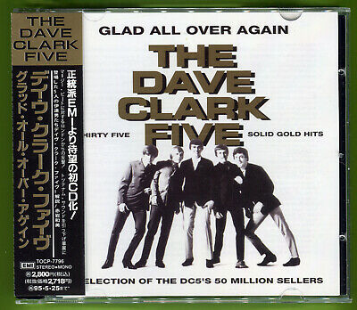 The Dave Clark Five GLAD ALL OVER AGAIN 26-track MINT CD w/OBI & 16-page booklet