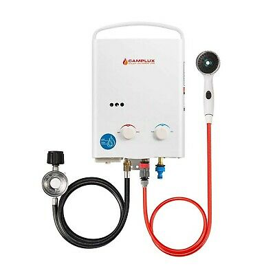 Camplux 5L 1.32 GPM Outdoor Portable Propane Tankless Water Heater pack of 1