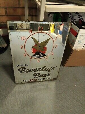 Beverleys Wakefield Mirror Clock Original