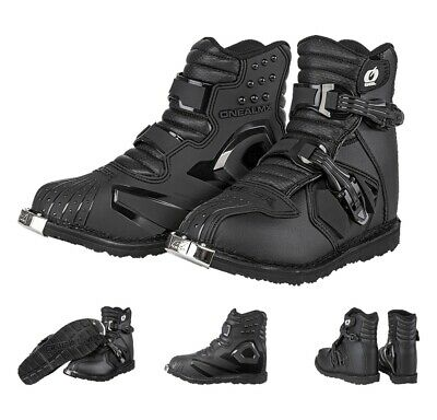 Oneal Motocross Stiefel Rider SHORTY MX Enduro ATV Quad Boots schwarz