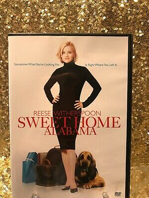 Sweet Home Alabama DVD - Love Story! Romantic Comedy. Reese Witherspoon.