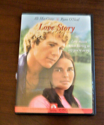 LOVE STORY (DVD, 2001, Widescreen - Checkpoint) ALI MACGRAW RYAN O'NEAL 1970