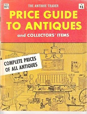 RARE Vintage 1971 Antique Trader Price Guide to Collectors Items