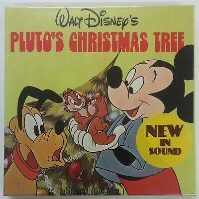 Walt Disney Super 8 Home Movies, Pluto's Christmas Tree, 8mm, Mickey Mouse