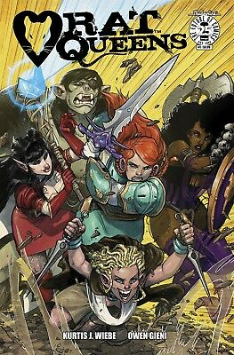 RAT QUEENS #1 (Volume 2), COVER A GIENI, New, First print, Image Comics (2017)