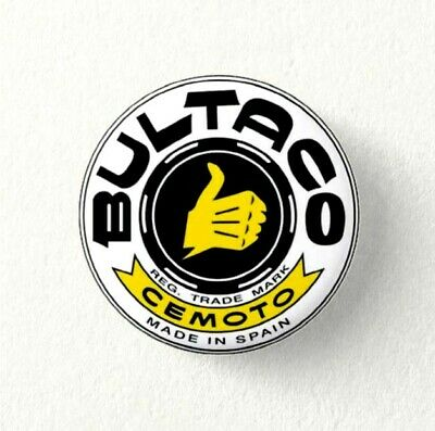 Chapa Pin Badge Button BULTACO