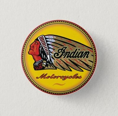 Chapa Pin Badge Button INDIAN MOTORCYCLES